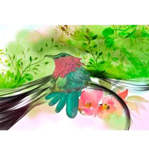 Detalle pájaro